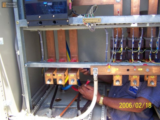Bus bar systems process connect instrumentation